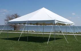 "15x15 Pole Tent Package (3) 60"" Round Tables, 24 Chairs and 1 6' Banquet Table $280.00"