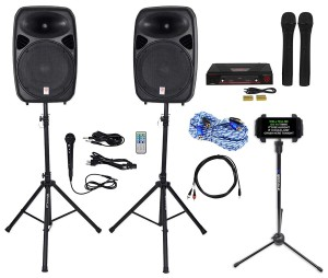 Two Mic Pro Karaoke Machine $75.00