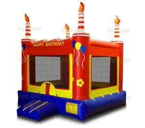 Red Birthday Cake 13x13x15 $190.00