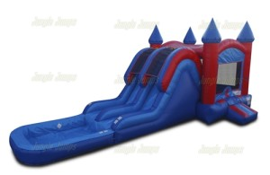 Dual Lane High Slide 12x33x16 $300  ($375 with pool)
