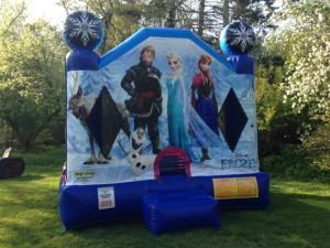 Frozen Bounce House 14x14x14 $200