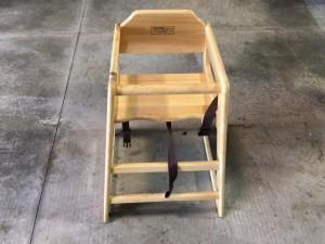 Wooden High Chair $6.00