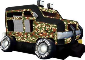 Military Truck 18x16x12 $225.00