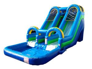 Kawabunga Dual Lane Slide 15x34x16 $425