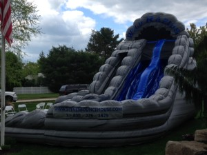 Wild Rapids Slide with Pool 25x16x18 $350