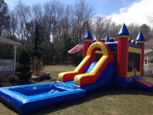 Castle Combo with Pool 13x32x15 $275