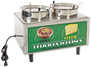 Chili & Cheese Warmer Great for Nachos or Hot Dogs $50