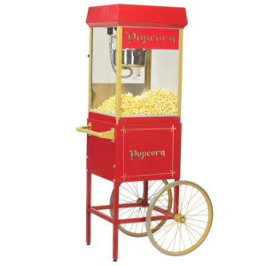Popcorn Machine $70 machine $100 machine with cart * includes supplies for 50 people
