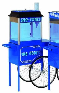 ** $65 for any machine and cart with inflatable, tent or movie screen rental.