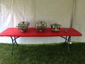 Chafing Dishes $10 Sterno Gel Fuel $3