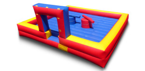 Inflatable Joust 2 Joust Poles & Head Gear 20x20x8 $250.00