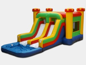 Double Lane Jump & Fun 26x16x12 $300