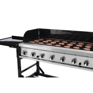 "60"" Portable Outdoor Grill 8-Burner Grill made for large Events $150.00 ($50 cleaning fee) Requires 2 Propane Tanks (not included)"