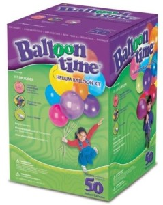 Balloon Time Disposable Helium Jumbo Tank 50 Balloons included. $50