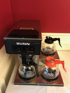 Coffee Maker with 3 warming Pots $45.00